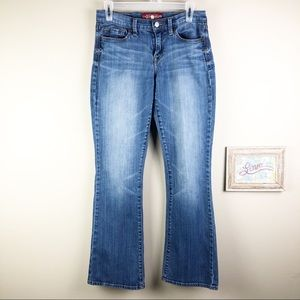 Lucky Brand Sofia Distressed Bootcut Jeans Size 6
